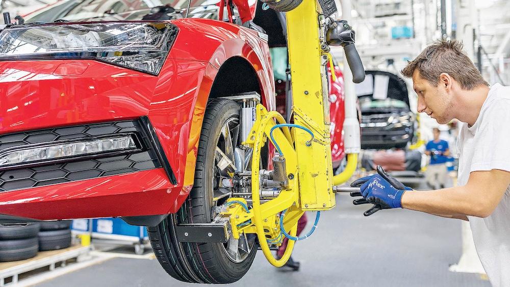 Производство нового поколения Škoda Superb будет перенесено на завод Volkswagen в Братиславе