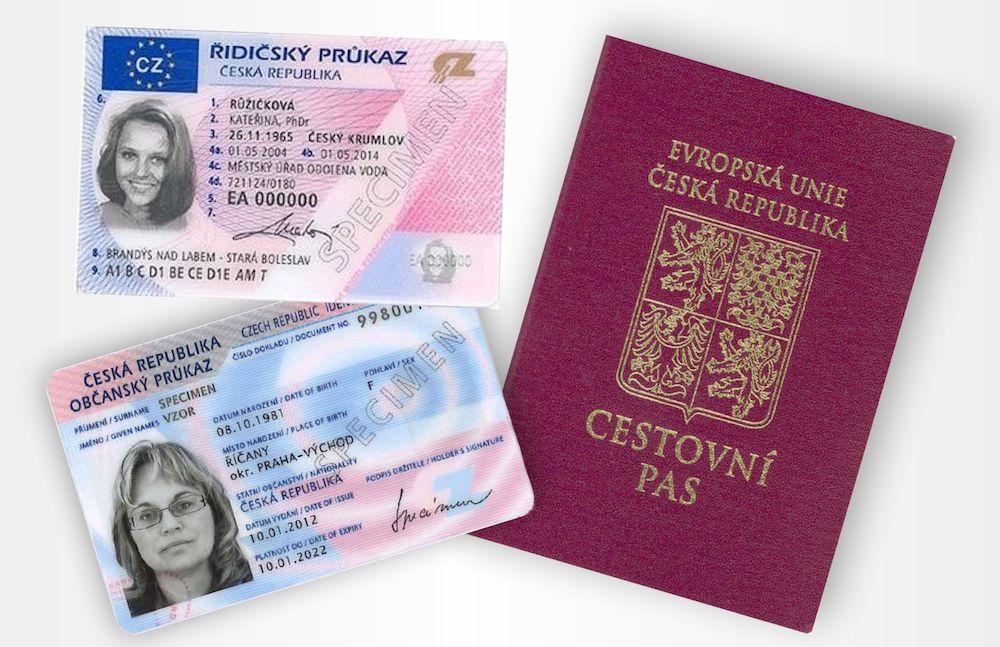 Удостоверения личности в Чехии будут с отпечатками пальцев