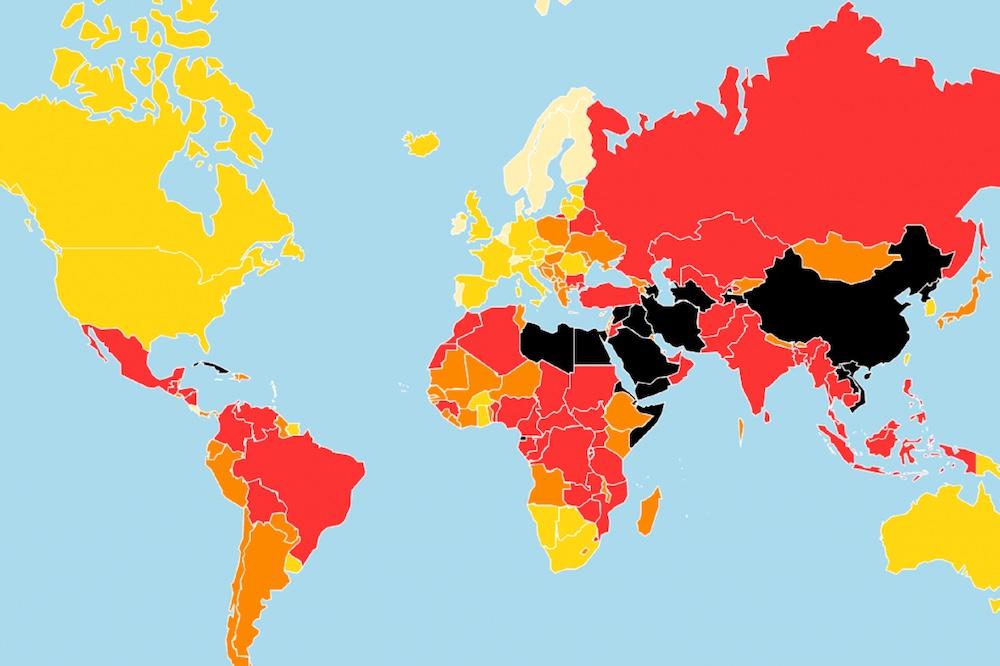 В рейтинге свободы СМИ Чехия заняла 40-е место